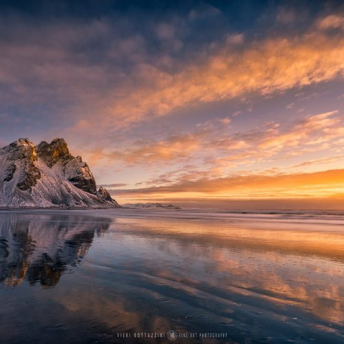 VESTRAHORN, SUNSET