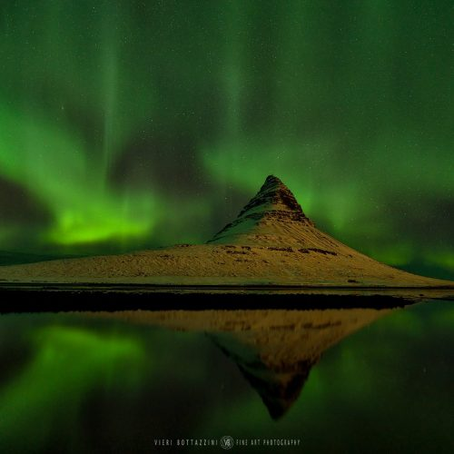 KIRKJUFELL, NORTHERN LIGHTS